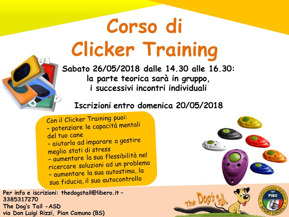 Corso di Clicker Training